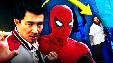 Shang-Chi Spider-Man Do a Flip Guy