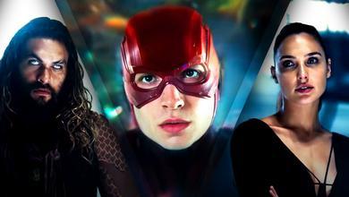 Aquaman, Flash, Wonder Woman