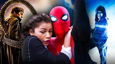 Spider-Man Zendaya Tom Holland Doc Ock Electro