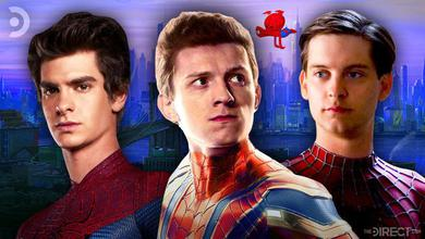 Past Spider-Man actors Maguire, Holland, and Garfield almost shared the Spider-Verse screen