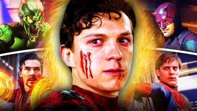 Spider Man No Way Home Characters Tom Holland Tobey Maguire Daredevil