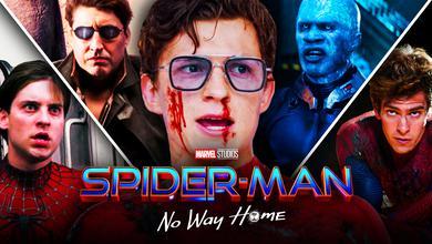 Tom Holland Spider-Man 3 No War Home Villains