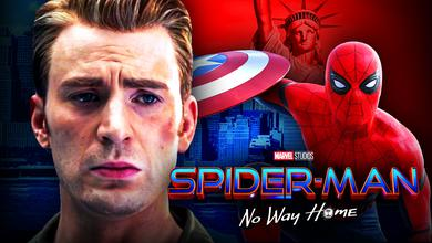 Chris Evans Spider-Man Captain America shield