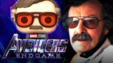 Stan Lee Funko, Stan Lee in Avengers Endgame, Avengers Endgame title logo