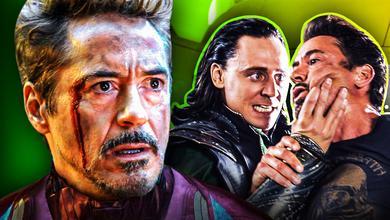 Tony Stark Iron Man Loki
