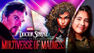 Doctor Strange Multiverse of Madness America Chavez Xochtl Gomez