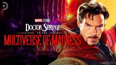 Doctor Strange and logo