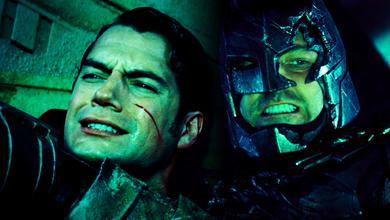 Ben Affleck as Batman, Henry Cavill as Superman