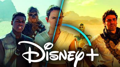 Star Wars Rise of Skywalker Team Disney Plus