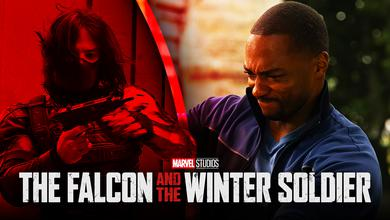 Winter Soldier and Falcon Marvel