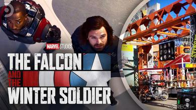 Set Photos of The Falcon and The Winter Soldier