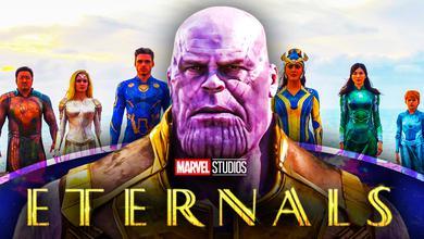 Thanos, The Eternals, Marvel Studios' Eternals