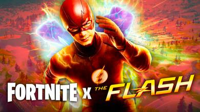 The Flash, Fortnite