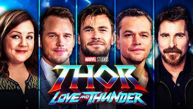 Thor, Melissa McCarthy Chris Hemsworth  Chris Pratt Christian Bale, Matt Damon