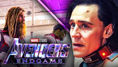 Loki Avengers Endgame time travel