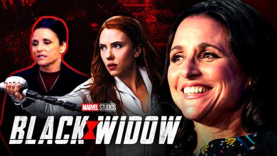 Julia Louis Dreyfus Black Widow