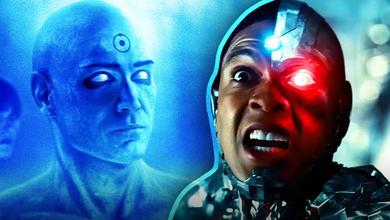 Dr. Manhattan, Cyborg