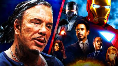 Mickey Rourke Iron Man 2