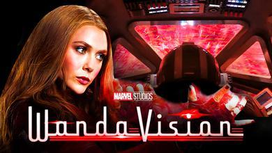 Scarlet Witch, WandaVision Spaceship clip, WandaVision logo