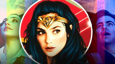 Gal Gadot as Wonder Woman, Steve Trevor
