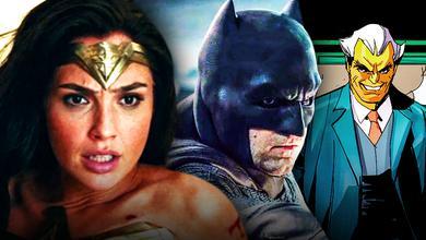 Wonder Woman, Batman, Simon Stagg