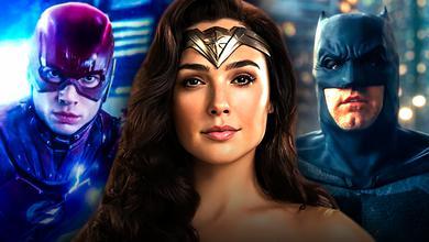 Flash, Wonder Woman, Batman
