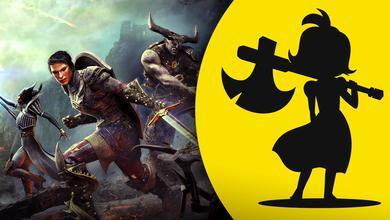 Yellow Brick Logo, Dragon Age Inquisition