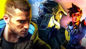 Cyberpunk, Halo, Overwatch}