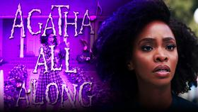 Teyonah Parris as Monica Rambeau, Agatha All Along title card}