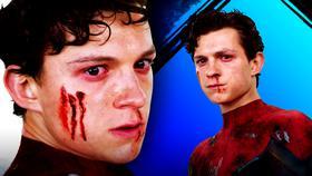 Spider-Man, Tom Holland bloody}