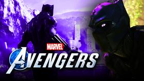 Black Panther Marvel's The Avengers}