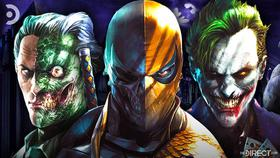 Two-Face, Deathstroke, Joker}