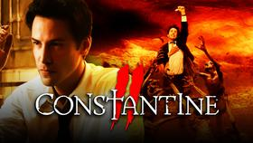 Constantine logo, Keanu Reeves as John Constantine}