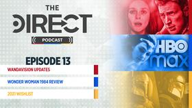 The Direct Podcast, Scarlet Witch with Captain America, Wonder Woman on HBO Max, The Mandalorian}