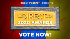The Direct Awards logo, MCU, DCEU, and Star Wars news awards}