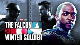 The Falcon and the Winter Soldier Logo, Anthony Mackie}