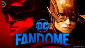 Robert Pattinson's Batman and Ezra Miller's The Flash}