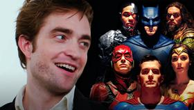 Robert Pattinson, Justice League}