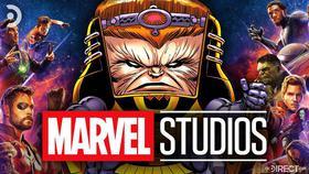 MODOK, Marvel Studios logo, Avengers}