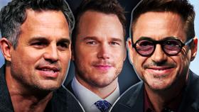 Mark Ruffalo, Chris Pratt, Robert Downey, Jr.}