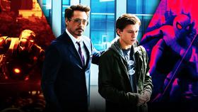 Spider-Man, Peter Parker, Tony Stark, Iron Man}