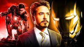 Robert Downey Jr Iron Man}