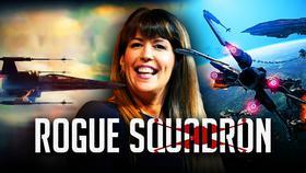 Patty Jenkins, Rogue Squadron logo}
