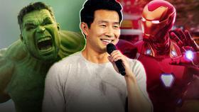 Hulk, Simu Liu, Iron Man}