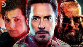 Peter Parker, Tony Stark, Mandarin}