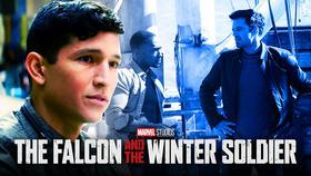 falcon winter soldier danny ramirez bts marvel mcu disney+}