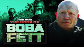 Boba Fett Actor The Book of Boba Fett logo}