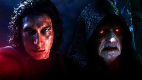 Kylo Ren, Palpatine in Star Wars: The Rise of Skywalker}