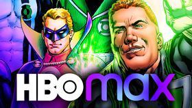 Green Lantern, HBO Max Logos}