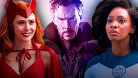 Wanda, Doctor Strange, Monica Rambeau}